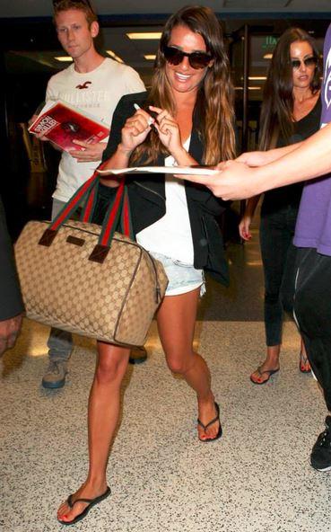 Lea Michele in Havaianas